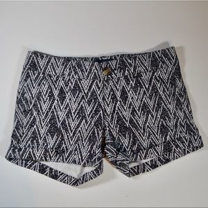 Cute Black and White Shorts Size 2